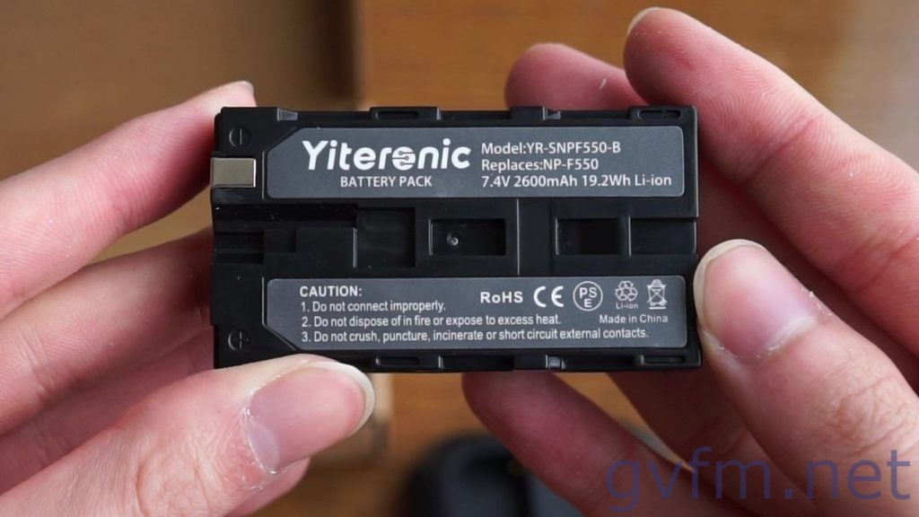 Viltrox L116Tに対応しているバッテリー