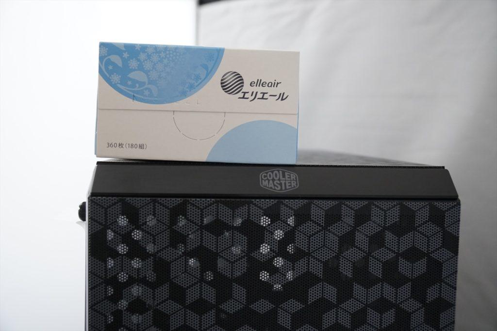 Cooler Master MasterBox Q300L 大きさ比較 幅