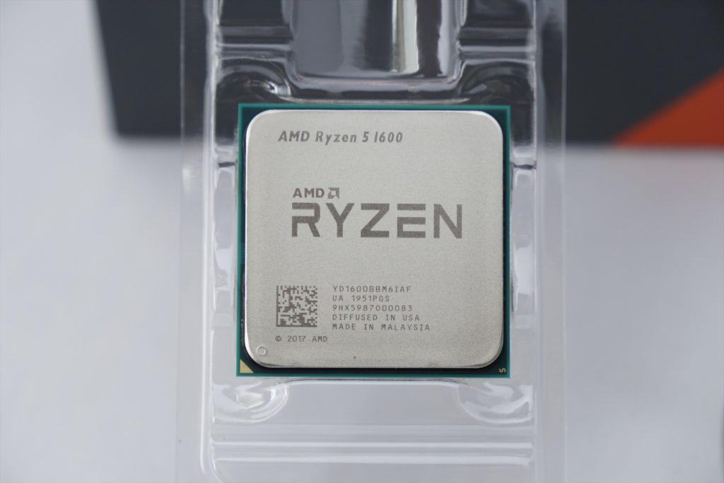 Ryzen5 1600AF CPU本体