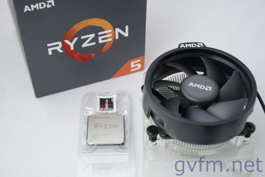 AMD Ryzen5 1600AF Wraith Stealthクーラー