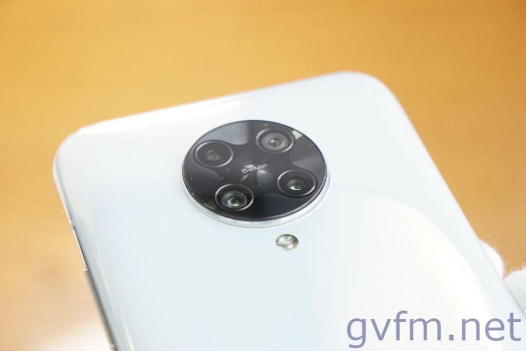 最安のSnapdragon865 Poco F2 Pro カメラ部分